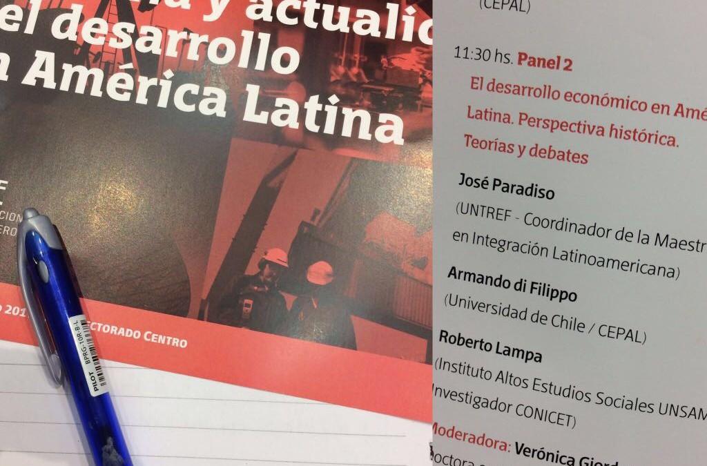 """Seminario """"Memoria y actualidad del desarrollo en América Latina"""""""
