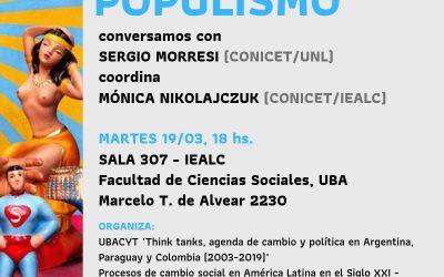 Conversatorio: «Derechas y populismo»