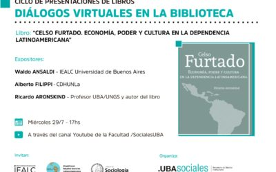 Diálogos virtuales con Waldo Ansaldi, Alberto Filippi y Ricardo Aronskind