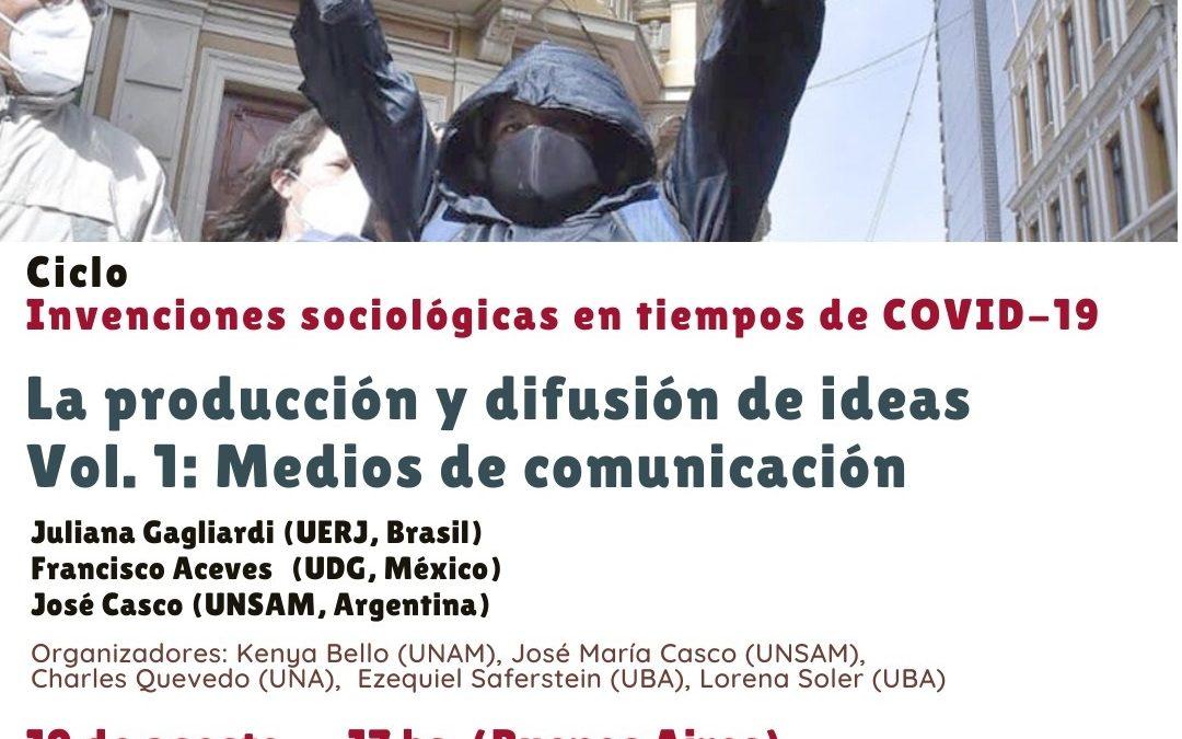 Ciclo «Invenciones sociológicas en tiempos de COVID-19»